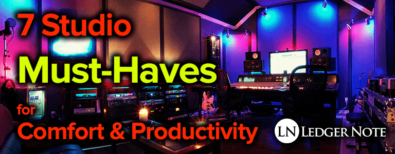 studio must-haves for productivity