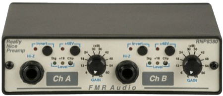 FMR Audio Really Nice Preamp