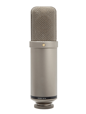rode ntk microphone great for recording acoustic guitar