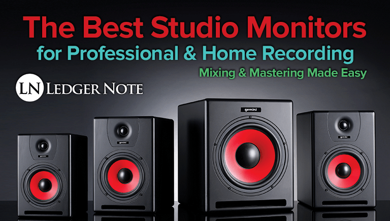 Brilliant The Best Studio Monitors Speakers For Home Pro Audio Inspirational Interior Design Netriciaus