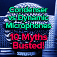 condenser and dynamic mic myths