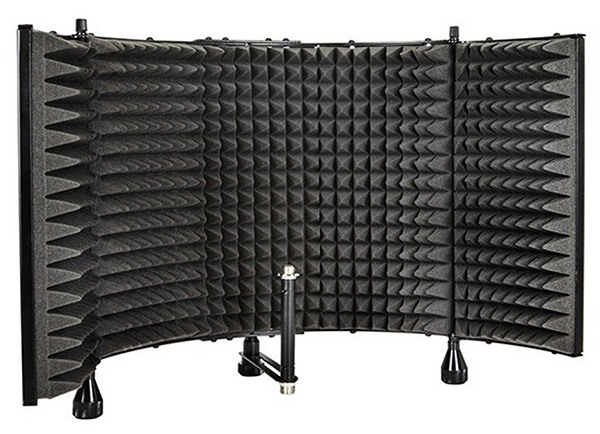 monoprice reflection filter isolation shield for microphones