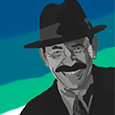 scatman john watercolor