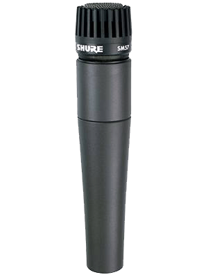 The Shure SM57, the definitive guitar amp mic