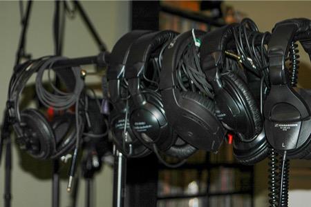 tons of headphones