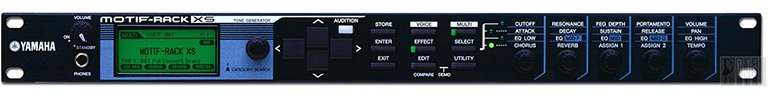 yamaha motif sound module for beat production