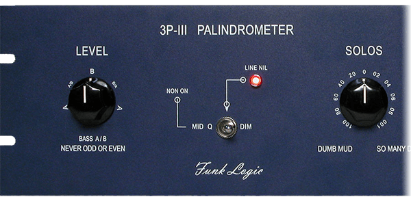 funklogic palindrometer left side