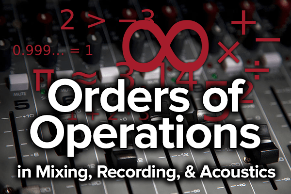 mixing recording acoustics