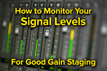 gain staging levels