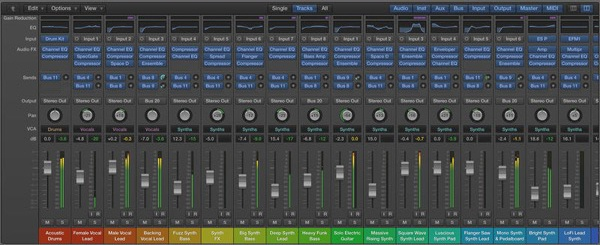 logic pro project template