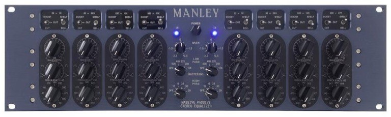 the best mastering equalizer, period, the manley labs massive passive