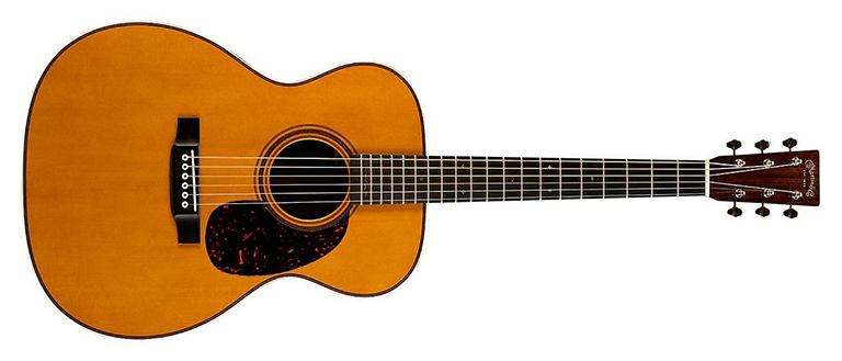 Martin Clapton Signature - Auditorium Acoustic Guitar Shape
