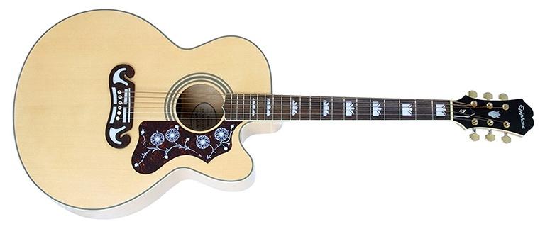 Epiphone Ej 200 Jumbo Acoustic Guitar Sizes