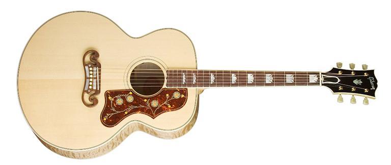 gibson j-200 jumbo guitar size