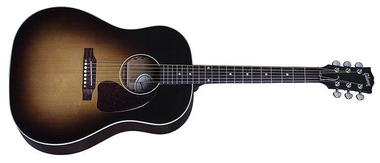 gibson j-45 round shoulder dreadnought