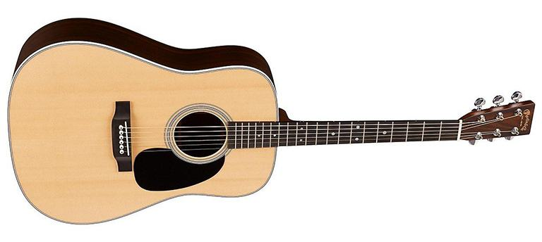 martin d-28 dreadnought guitar shape
