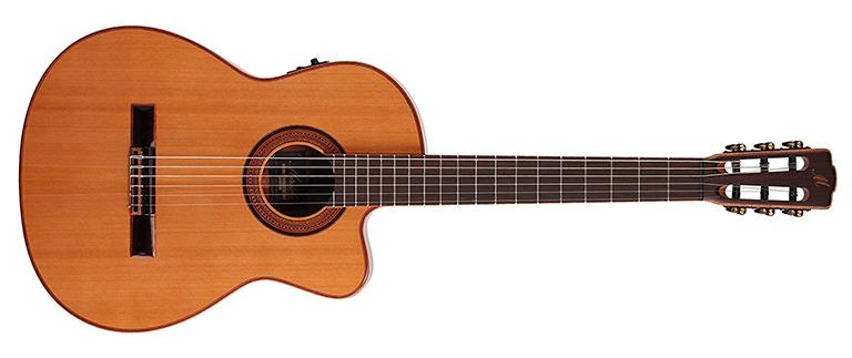 merida trajan classical guitar body size