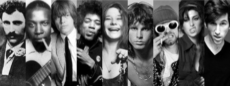 cursed musicians of the 27 club