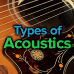 Types Of Acoustic Guitars Body Shapes Sizes