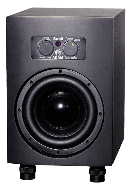 adam sub8 top subwoofer