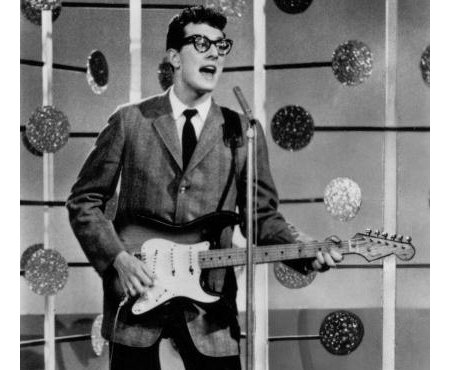 buddy holly stratocaster hero