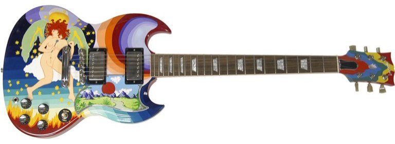 eric clapton the fool replica guitar