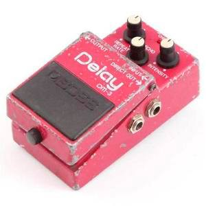 boss delay effects pedal