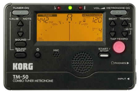 korg tm50bk tuner and metronome