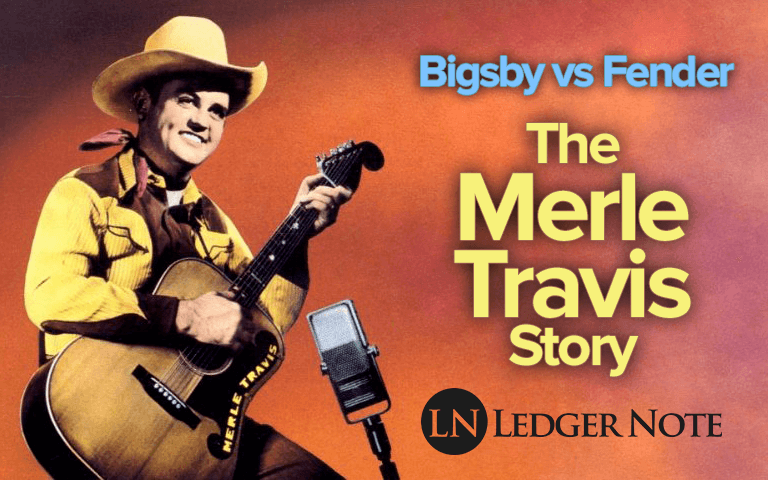 merle travis guitar story