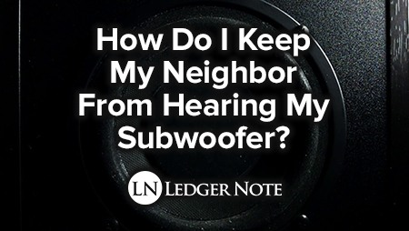 reduce subwoofer complaints