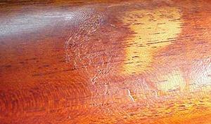guitar finish damaged