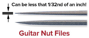 guitar nut files