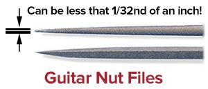 guitar nut files