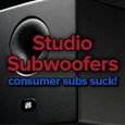 mixing subwoofers