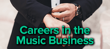 careers in the music business