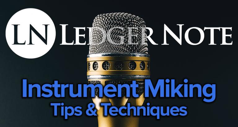 instrument miking techniques