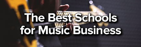 the best schools for music business