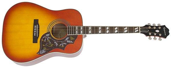 epiphone hummingbird pro guitar