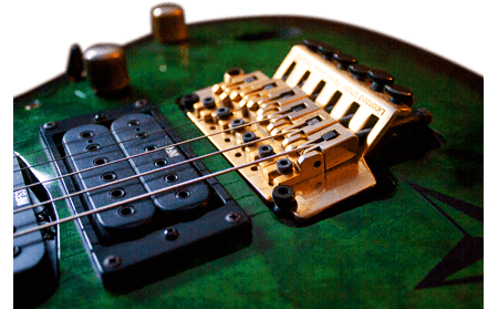 a floyd rose guitar bridge is one item that makes a guitar expensive