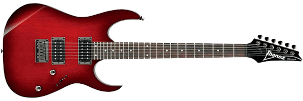 ibanez rg421 metal guitar