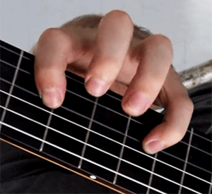 wide guitar neck chords