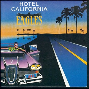 eagles hotel california LP cover