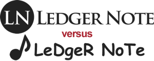 ledger note logo example