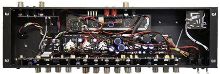 solid state guitar amp internals
