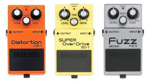 distortion overdrive fuzz tone