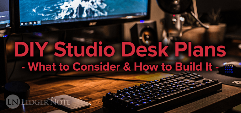 diy studio desk