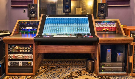 studio desk designs with rackmount cabinets