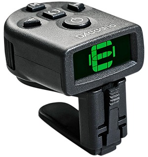 d'addario ns micro clip-on guitar tuner