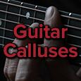 guitar callus