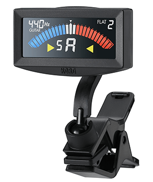 korg pitchcrow clip-on guitar tuner